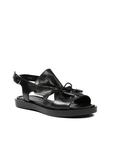 Hammer Jack Kadın Terlik / Sandalet 542 592-Z Siyah